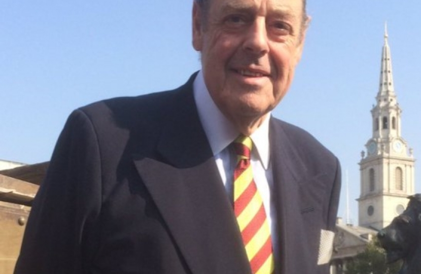Sir Nicholas Soames MP Welcomes Extra Winter Social Care Funding