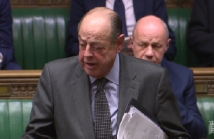Sir Nicholas Soames's question to the Prime Minister following her Statement on the European Council.  House of Commons  Monday, 17th December, 2018