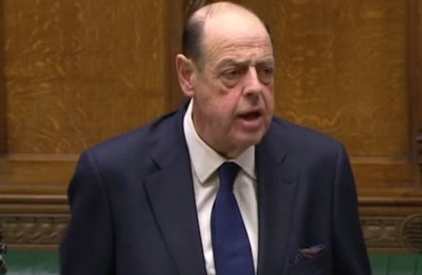 Sir Nicholas Soames question to the Prime Minister on leaving the EU