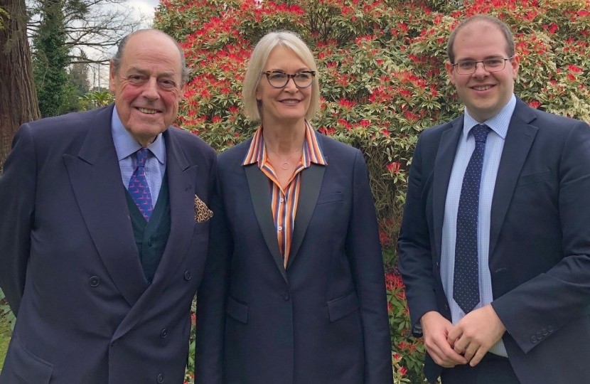 Sir Nicholas and Margot James Fibre in Sussex