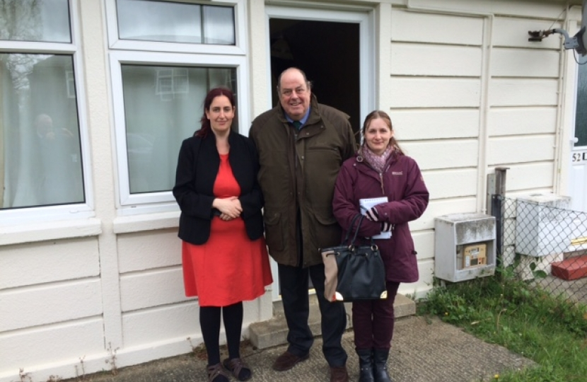 Nicholas meets residents to discuss Affinity Sutton