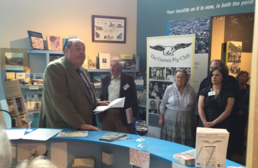 East Grinstead Museum exhibition opening